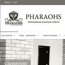 موقع مدرسة الفاروس البريطانية
